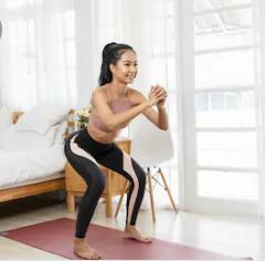 Fitness bei sich zu Hause
